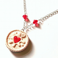 Jammy Dodger Necklace