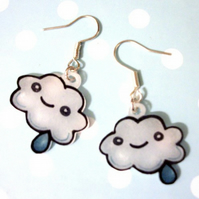 Kawaii Cloud Earrings