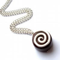 Single Luxury Chocolate Necklace