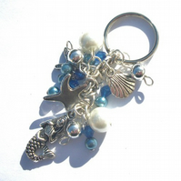 Blue Mermaid Keyring / Handbag Charm Pay It Forward