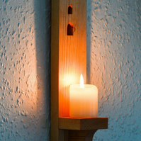 Wheal Coates Wall Sconce.Candle Holder.Cornish Poldark Tin Mine.