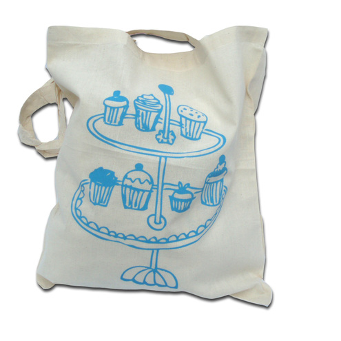 Cake stand shopper for life bag