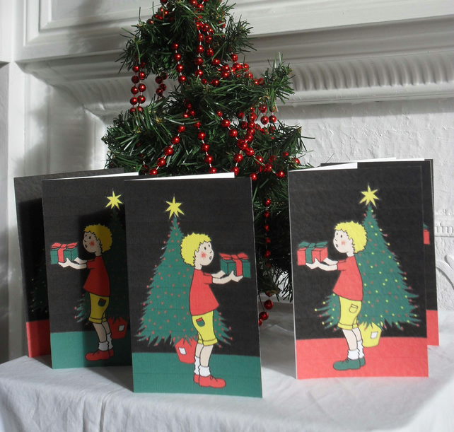 SIX CHRISTMAS CARDS - FOR YOU (FREE POSTAGE)