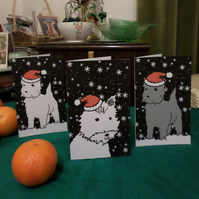 SIX CHRISTMAS CARDS – THE WINTER'S TAIL (FREE POSTAGE)