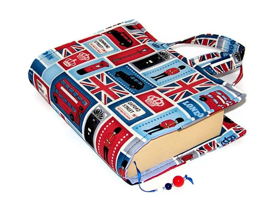Book Cover Bag - London Landmarks - SALE
