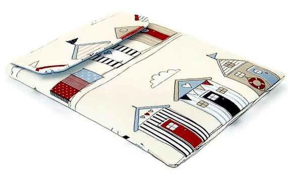 Ipad case - Beach Huts