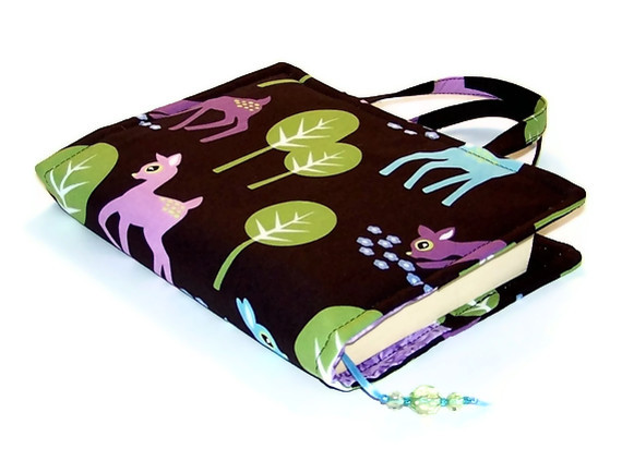 Fabric Book Bag PET DEER