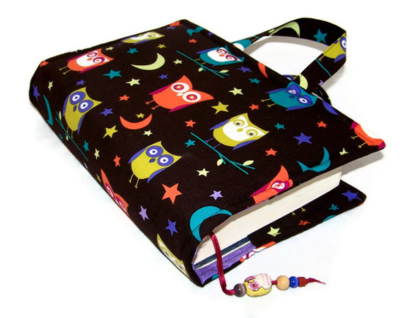 Book Cover Bag  Night Owls