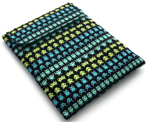 Ipad case SPACE INVADERS Father's Day Gift