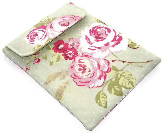 Ipad Cover ENGLISH ROSE GREEN