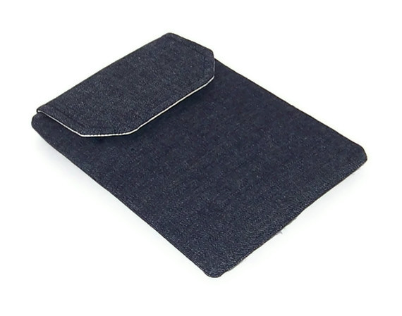 SALE Kindle Cover NAVY BLUE DENIM half price