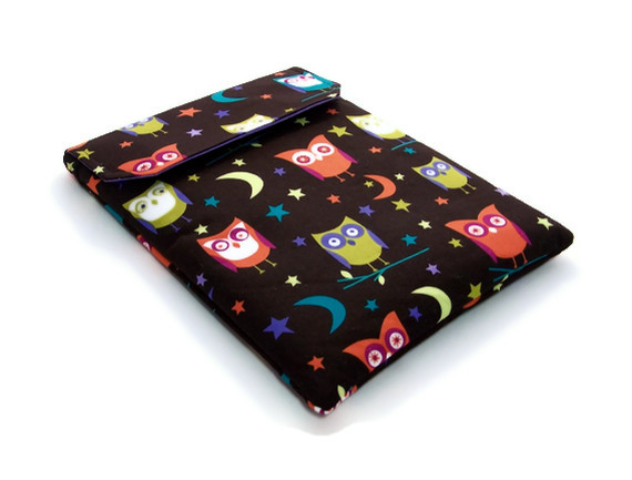 Kindle Sleeve, Nook Simple Touch, NIGHT OWLS