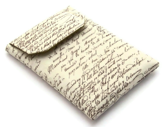 "Kindle Keyboard, Nexus 7, Galaxy Tab2 7"" Cover Old Script"
