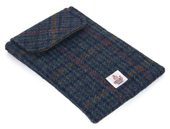 Harris Tweed Ipad Mini Case Stormy Sea