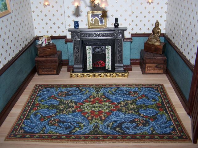 Dolls House Carpet William Morris