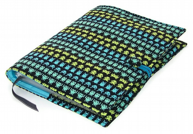 A4 Ring Binder File Cover SPACE INVADERS