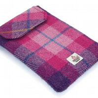 Ipad Mini Case Pink Sunset Harris Tweed Tartan