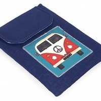 Ipad Mini Sleeve Camper van Blue