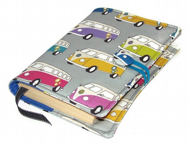 Book or Journal Cover Hippy Campervan