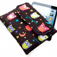 Ipad Mini Clutch Case Night Owls