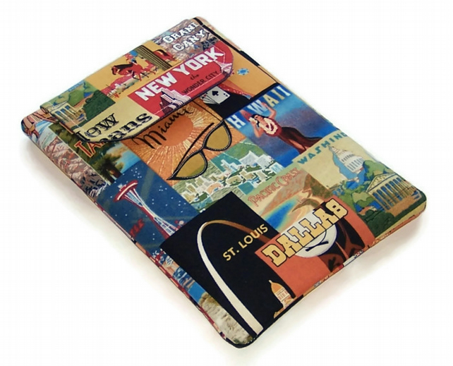Ipad Mini cover Retro American Cities