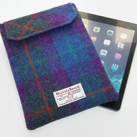 Ipad Air Sleeve HARRIS TWEED Purple Heather