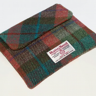 Clutch Sleeve for Ipad Mini in Harris Tweed Autumn Days
