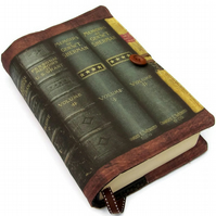 Large Handmade Bible Cover Victorian Era Books Design E