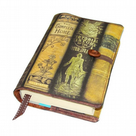 Handmade Book Sleeve from Antiquarian Books fabric Design A