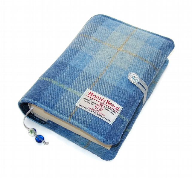 Book Cover HARRIS TWEED Blue Skies
