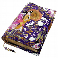 Large Book Cover, Bible Cover, Japanese Geisha Ladies