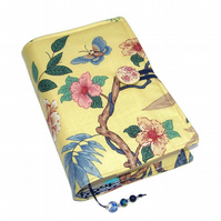 Book Cover, Padded Bible Cover, UK Seller, Oriental Dynasty Butterfly
