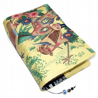 Large Bible or Book Cover, Oriental Dynasty Exotic Birds