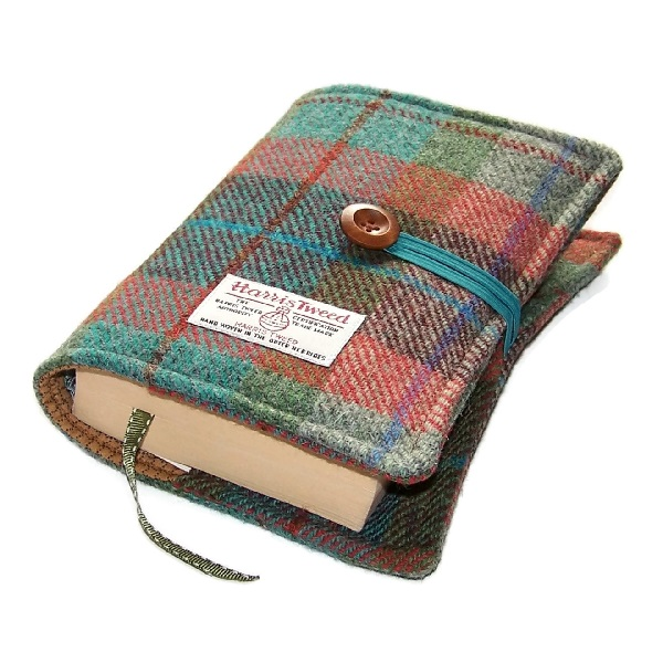 Harris Tweed Book Cover AUTUMN DAYS