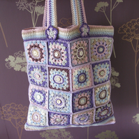 Tutorial. Crochet bag photo tutorial. PDF pattern. Email download.