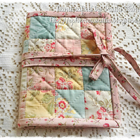Quilted patchwork sewing kit