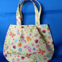 Pretty Summer Bugs Tote Bag