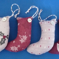 Spice Scented Christmas Stockings