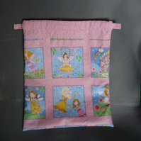 Pretty Fairy Drawstring Bag