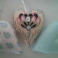 Lemongrass Scented Hearts