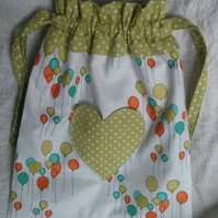 Balloons Drawstring Bag