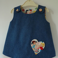 Denim Top Age 1