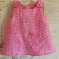 Pink Flowery Top Age 1