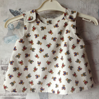Cute Teddy Cord Top 0-3mths