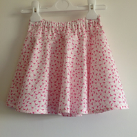 Pink Flamingo Skirt Age 4
