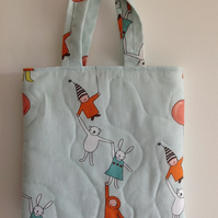Bears and Rabbits Quilted Bag