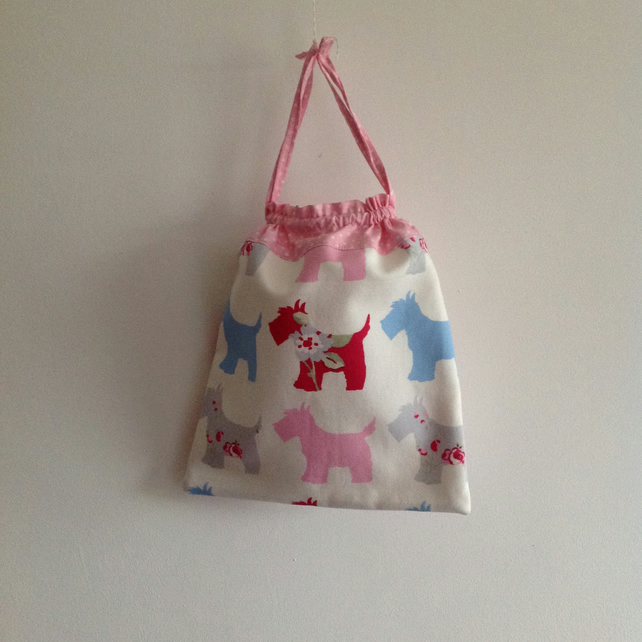 Pink Dog Toiletries Bag