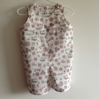 Cropped  Cotton Dungarees Age 6 months