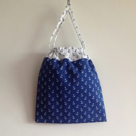 Blue Anchor Washbag