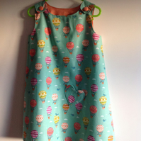 Balloon Pinafore Dress Age 4